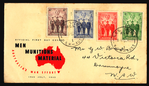 AUSTRALIAN STAMP COVERS