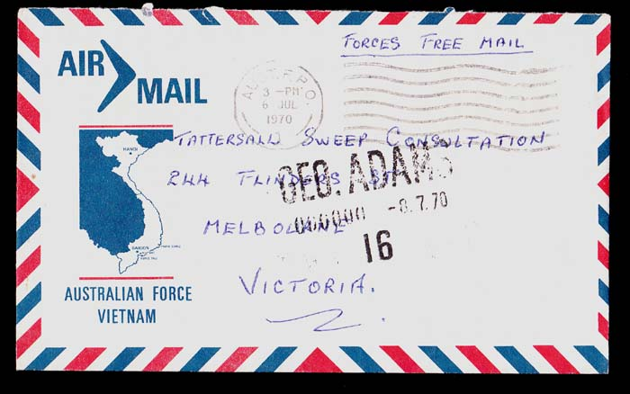 AUSTRALIAN POSTAL STAMP COVERS