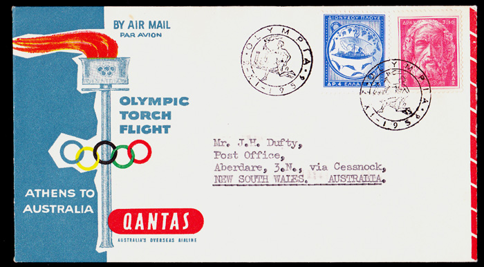 Celebrating the 16th.Olympic Games Melbourne AUSTRALIAN .. AUSTRALIA  COVERS .. FDC .. POSTAL HISTORY .. POSTAL STATIONERY